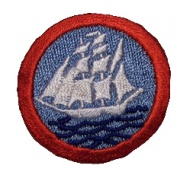 Long Cruise Badge (round patch with the picture of a sailing ship)