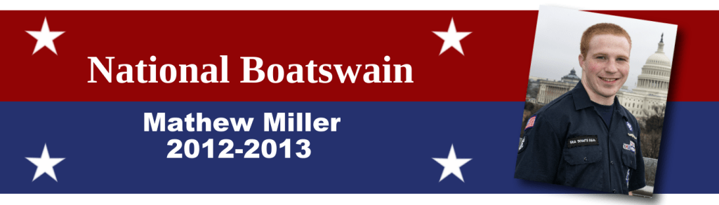 National Boatswain Banner- Miller