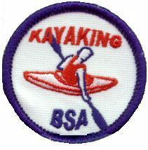 Kayaking BSA patch