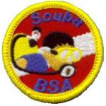 Scuba BSA patch