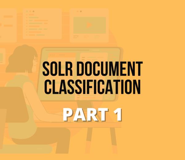 Solr Document Classification