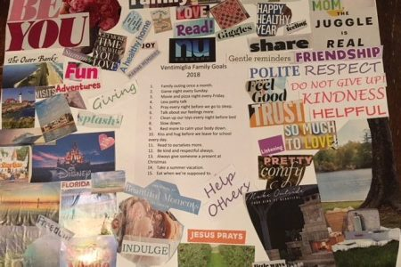 How to create a family vision board