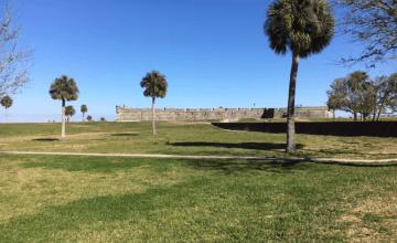 Castillo de San Marcos historic fort
