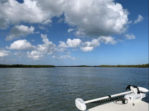 Boating in December in Florida