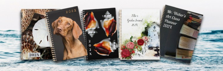 Banner for planners customize any year Zazzle link