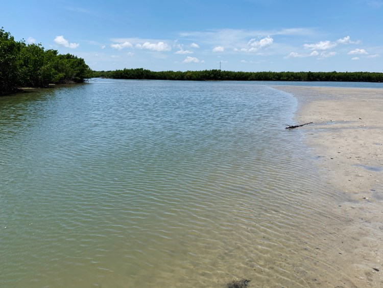 blue-green water, lagoon, Indian River boating