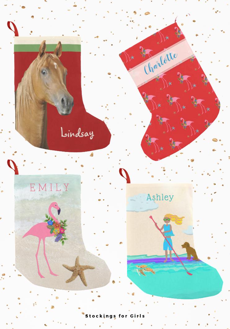 Christmas stockings for girls