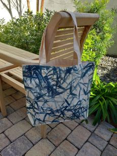 AFT824B 100 Cotton Canvas Silk Screened Handy Tote