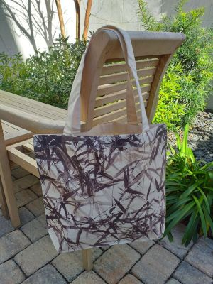 AFT824R 100 Cotton Canvas Silk Screened Handy Tote
