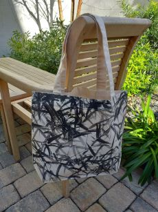 AFT824 100 Cotton Canvas Silk Screened Handy Tote