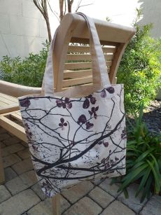 AFT855R 100 Cotton Canvas Silk Screened Handy Tote