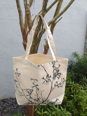 AFT857B Classic Tote Natural Photos Silk Screen