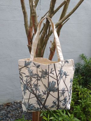 AFT905B Classic Tote Natural Photos Silk Screen