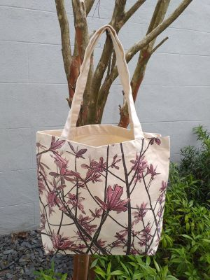 AFT905R Classic Tote Natural Photos Silk Screen
