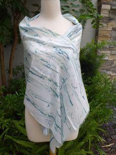 KOD953d 100 Silk Hand Dye Shawl Scarf
