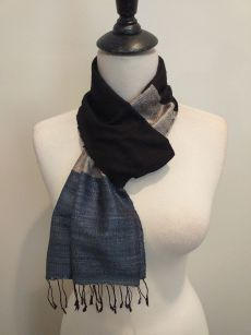 NDC008D SEAsTra Handwoven Silk Scarf