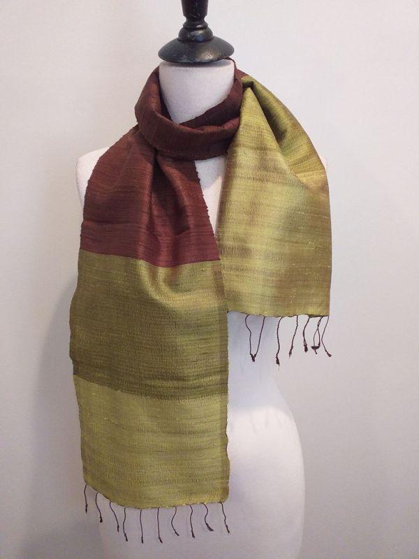 NDC019B SEAsTra Handwoven Silk Scarf