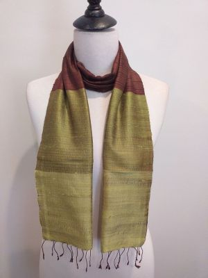 NDC019C SEAsTra Handwoven Silk Scarf