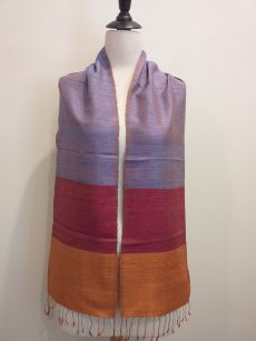 NDC330A SEAsTra Handwoven Silk Scarf