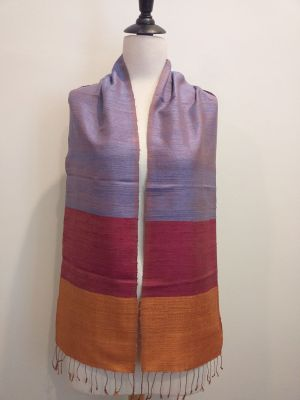NDC330A SEAsTra Handwoven Silk Scarf