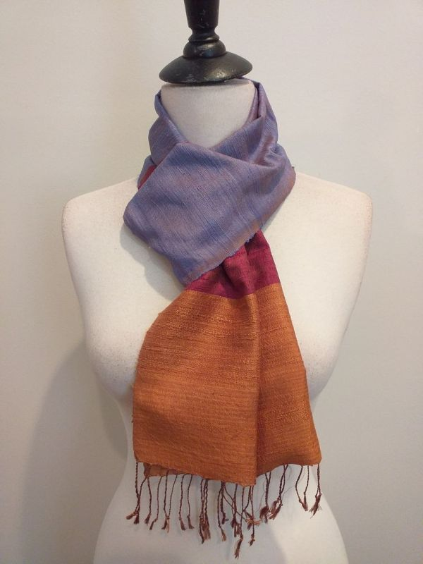 NDC330D SEAsTra Handwoven Silk Scarf