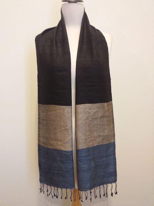 NDD008A SEAsTra Handwoven Silk scarf