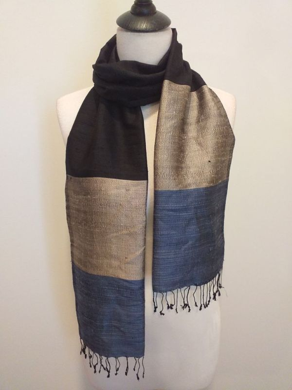 NDD008B SEAsTra Handwoven Silk scarf