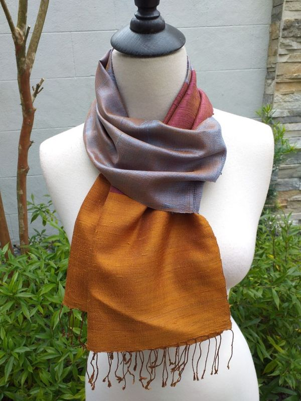 NDD330C SEAsTra Fairtrade Silk Scarves