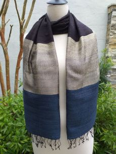NDS008D SEAsTra Handwoven Silk Scarves