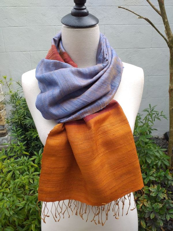 NDS330B SEAsTra Handwoven Silk Scarves