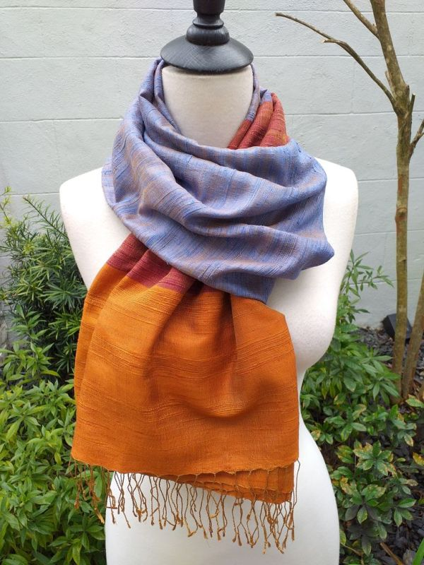NDS330C SEAsTra Handwoven Silk Scarves