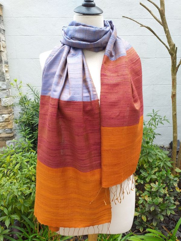 NDS330E SEAsTra Handwoven Silk Scarves