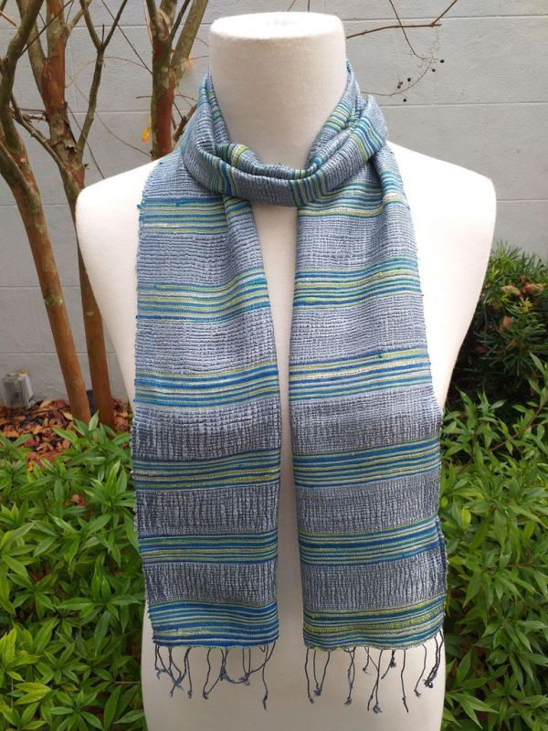 NFC555B SEAsTra Fairtrade Silk Scarf