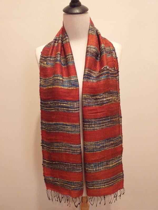 NFD001A SEAsTra Handwoven Silk scarf