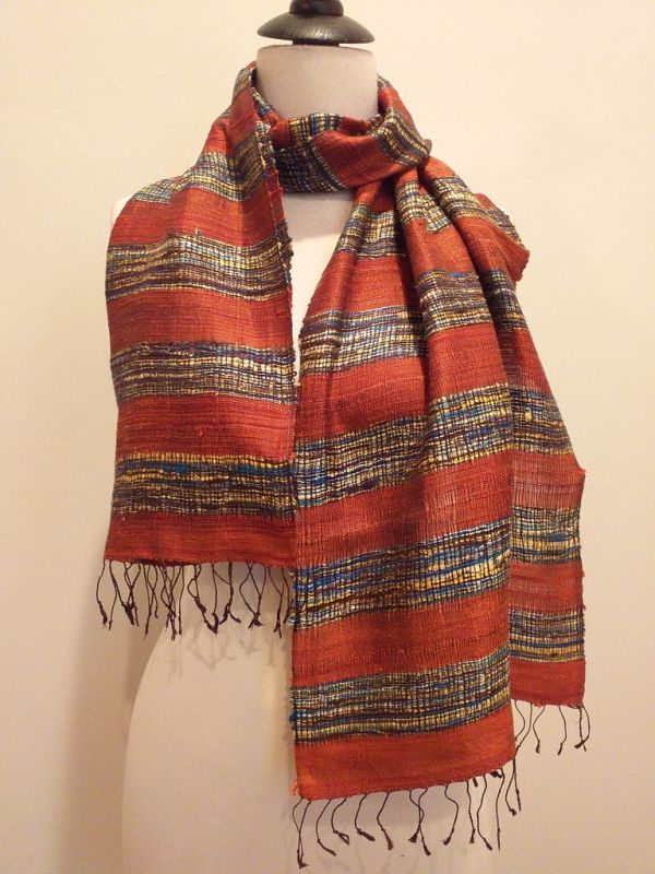 NFD001B SEAsTra Handwoven Silk scarf