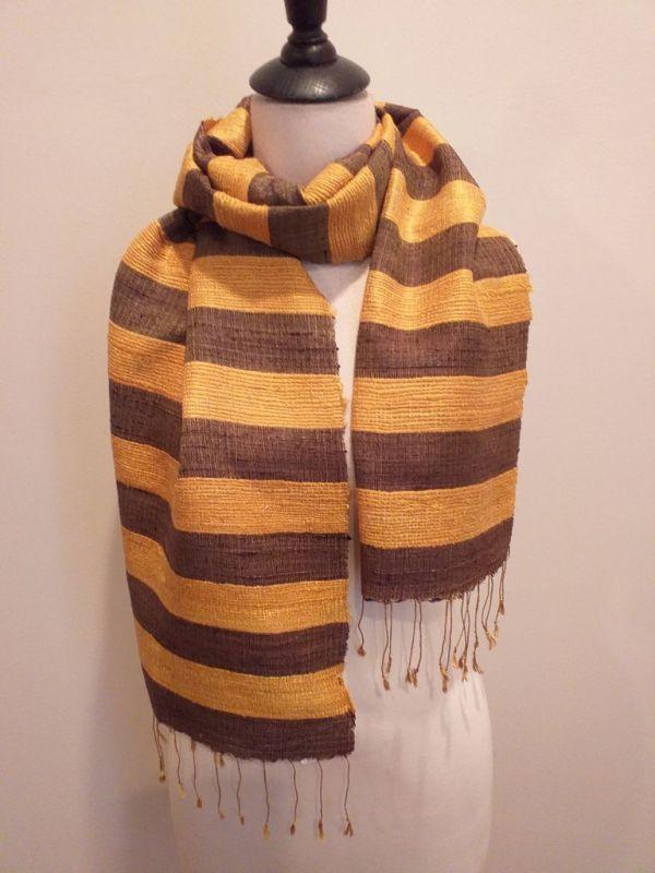 NFD035B SEAsTra Handwoven Silk scarf