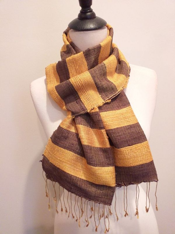 NFD035D SEAsTra Handwoven Silk scarf