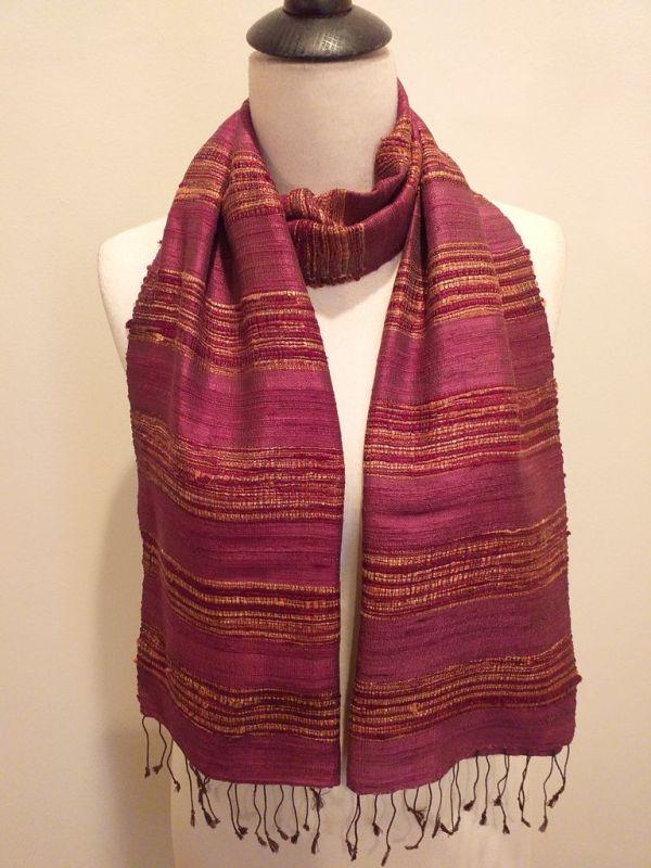 NFD039C SEAsTra Handwoven Silk scarf