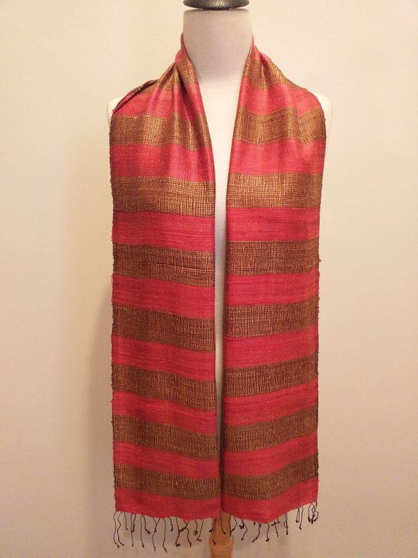 NFD185A SEAsTra Handwoven Silk scarf