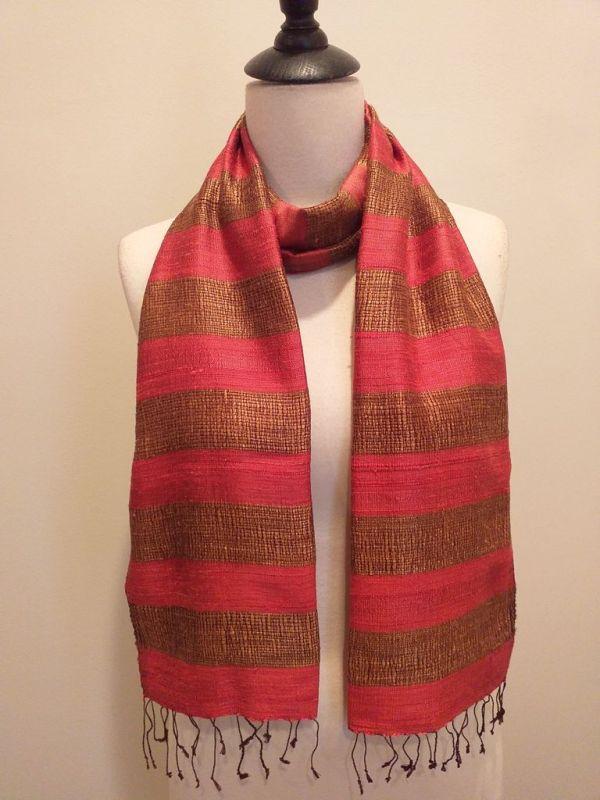 NFD185C SEAsTra Handwoven Silk scarf