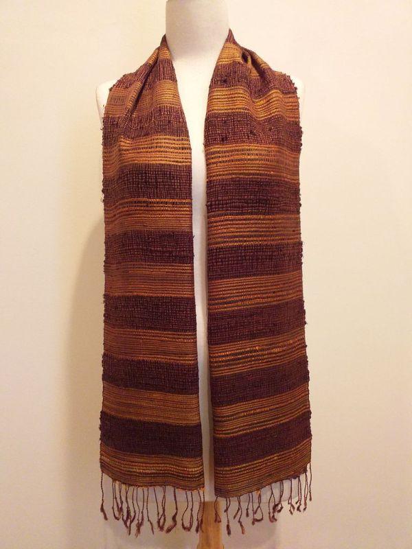 NFD189A SEAsTra Handwoven Silk scarf