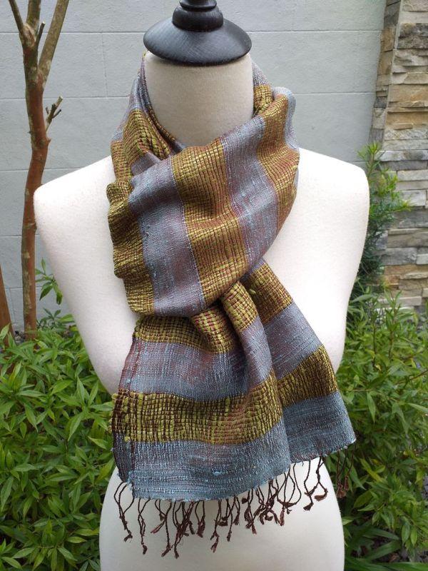 NFD317B SEAsTra Fairtrade Silk Scarves