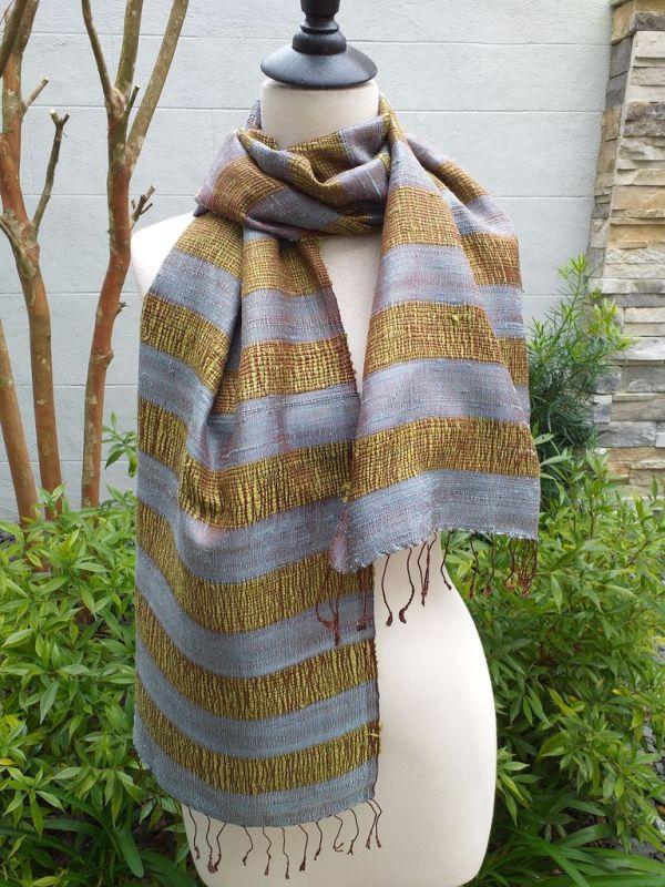 NFD317E SEAsTra Fairtrade Silk Scarves