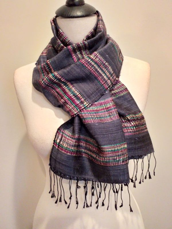 NFD561D SEAsTra Handwoven Silk scarf