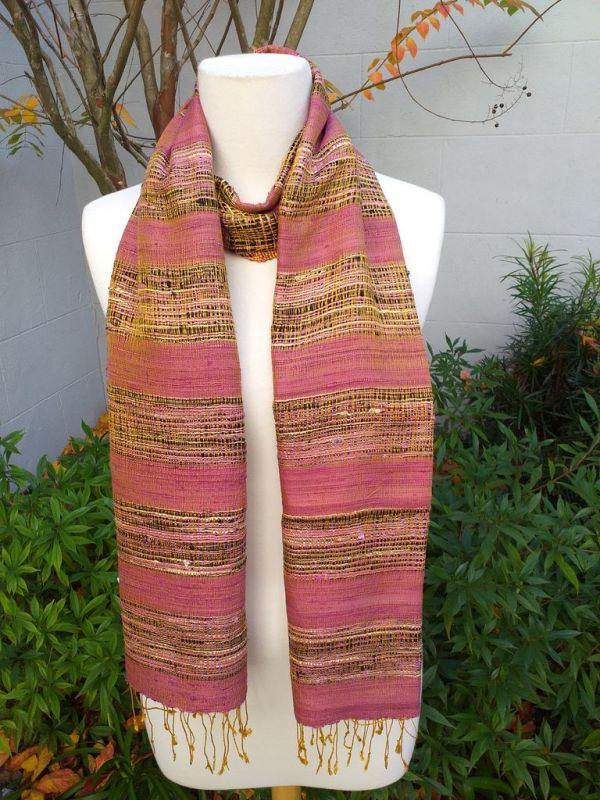 NFS507B SEAsTra Fair Trade Silk Scarf