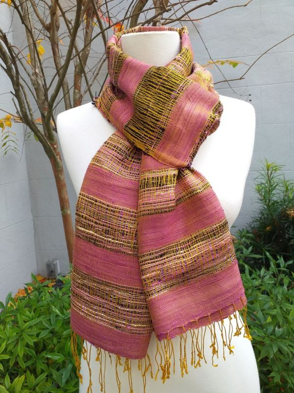 NFS507C SEAsTra Fair Trade Silk Scarf