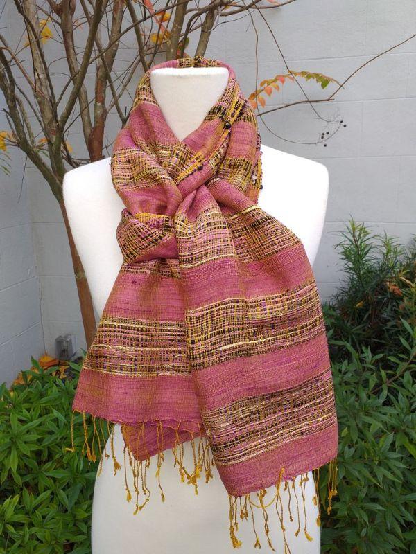NFS507E SEAsTra Fair Trade Silk Scarf