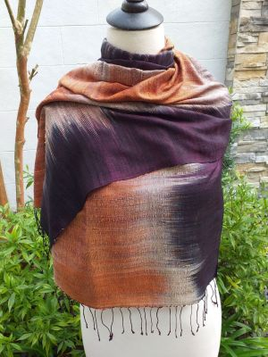 NLS160A SEAsTra Thailand Silk Scarves
