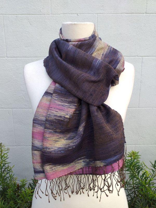 NMS865D SEAsTra Fairtrade Silk Scarf