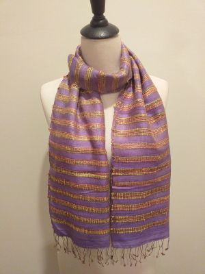 NND162C SEAsTra Fair Trade Silk Scarf